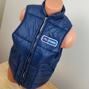 1980s Ford Puffer Vest